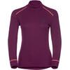 Odlo Warm Ondergoed bovenlijf Dames rood/violet
